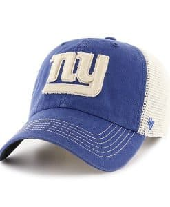 New York Giants Springfield Clean Up Vintage Blue 47 Brand Adjustable Hat