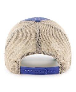 New York Knicks Tuscaloosa Clean Up Vintage Blue 47 Brand Adjustable Hat Back