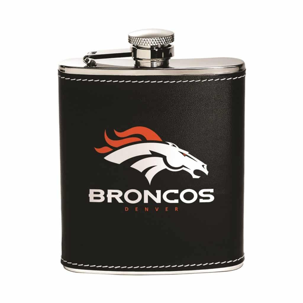 Denver Broncos Stainless Steel Flask