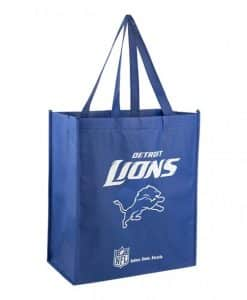 Detroit Lions Reusable Tote Grocery Bag