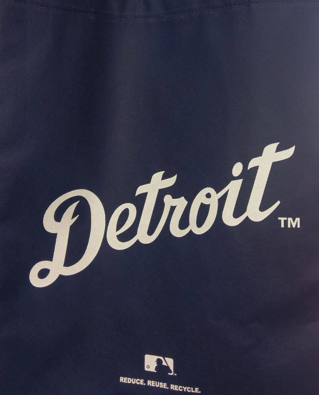 Detroit Reusable Tote Grocery Bag