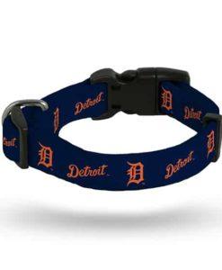 Detroit Tigers Navy Dog Collar
