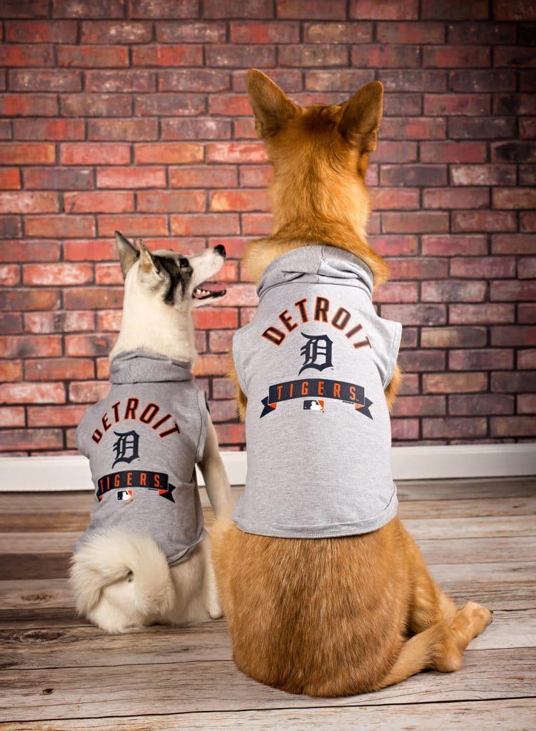 Detroit Tigers Dog Hoodie