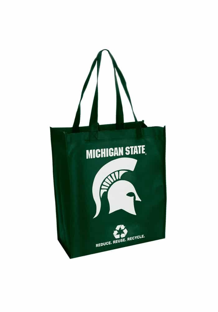 Michigan State Spartans Reusable Tote Grocery Bag
