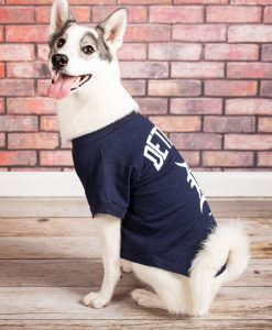 Detroit Tigers Navy Dog Tee