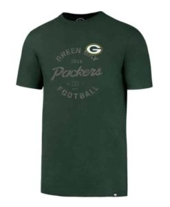 Green Bay Packers Men's 47 Brand Green Flanker T-Shirt Tee