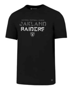 Oakland Raiders Men's 47 Brand Sport Black T-Shirt