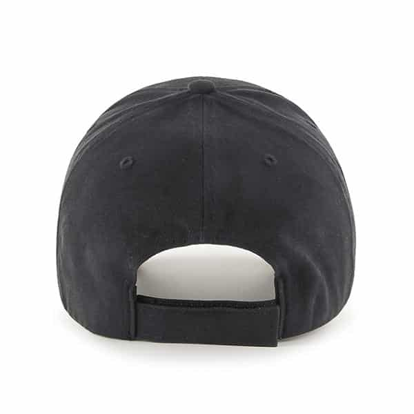 Detroit Lions 47 Brand Black MVP KIDS Adjustable Hat Back