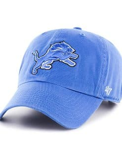 Detroit Lions 47 Brand Blue Raz YOUTH Clean Up Adjustable Hat
