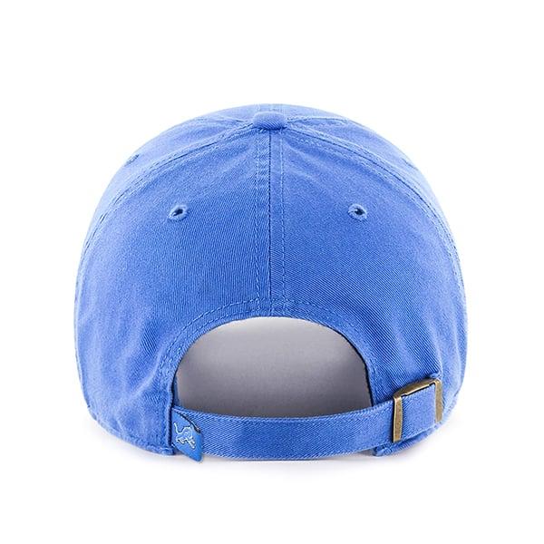 Detroit Lions 47 Brand Blue Raz YOUTH Clean Up Adjustable Hat Back