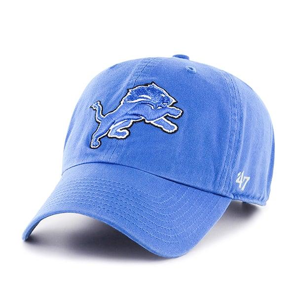 07c7f61d4 Detroit Lions 47 Brand Blue Raz YOUTH Clean Up Adjustable Hat ...