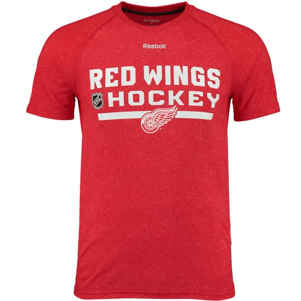 Detroit Red Wings Locker Room Performance T-Shirt