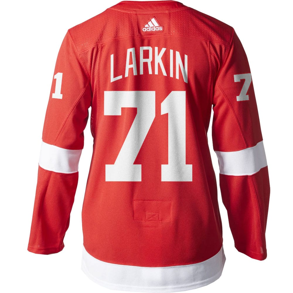 960abcc13d9 Dylan Larkin Detroit Red Wings Men's Adidas AUTHENTIC Home Jersey ...