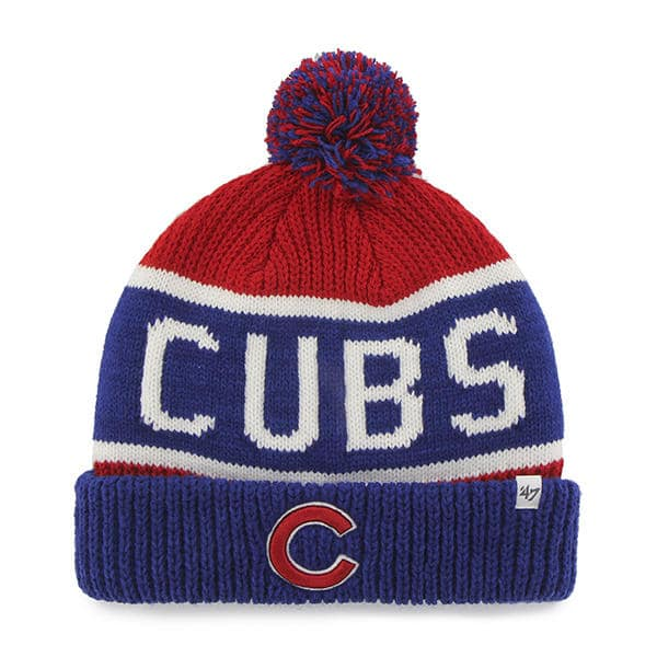 Chicago Cubs 47 Brand Calgary Cuff Knit Red Hat