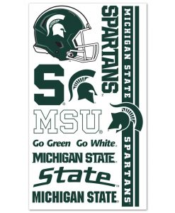 Michigan State Spartans Temporary Tattoos