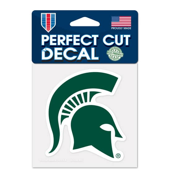 Michigan State Spartans 4x4 Perfect Cut Color Decal