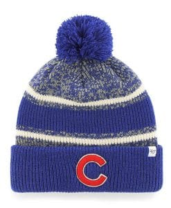 Chicago Cubs Fairfax Cuff Knit Blue 47 Brand Hat
