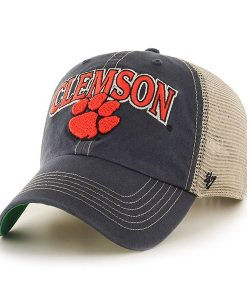 Clemson Tigers 47 Brand Tuscaloosa Vintage Navy Clean Up Adjustable Hat