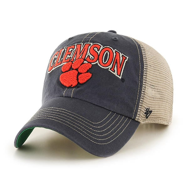 new styles 5dae4 4e517 Clemson Tigers 47 Brand Tuscaloosa Vintage Navy Clean Up Adjustable Hat -  Detroit Game Gear