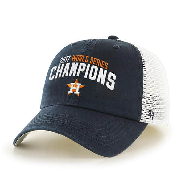 551a27d75dc82 Houston Astros World Series Champions 47 Brand Stretch Fit Hat - Detroit  Game Gear