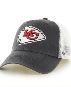 Kansas City Chiefs Closer Charcoal 47 Brand Stretch Fit Hat