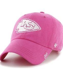 Kansas City Chiefs Women's 47 Brand Pink Clean Up Hat