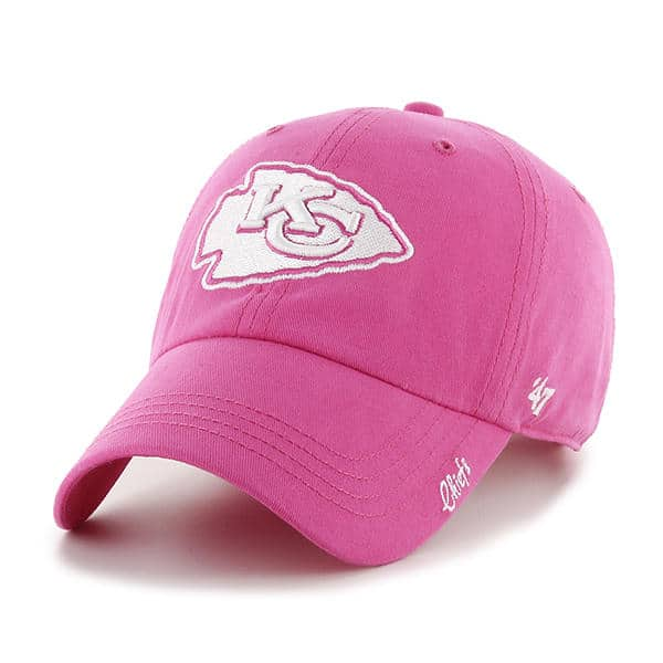 Kansas City Chiefs Women's Miata Pink Clean Up 47 Brand Hat