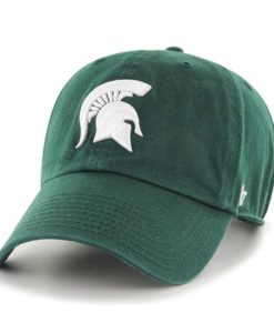 Michigan State Spartans 47 Brand Dark Green Clean Up Adjustable Hat