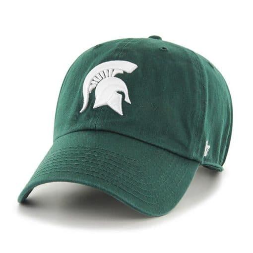 Michigan State Spartans 47 Brand Dark Green Clean Up Adjustable Hat