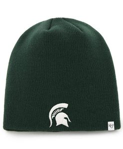 Michigan State Spartans 47 Brand Knit Dark Green Beanie Hat