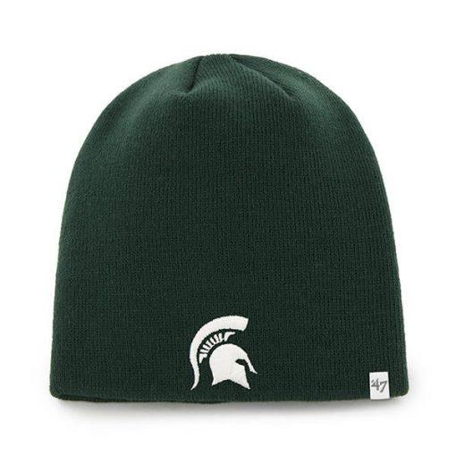 Michigan State Spartans 47 Brand Knit Dark Green Beanie Hat