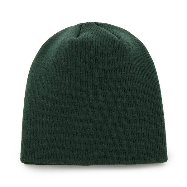 Michigan State Spartans 47 Brand Knit Dark Green Beanie Hat Back