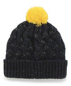 Michigan Wolverines Women's 47 Brand Fiona Cuff Knit Hat Back