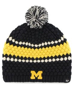 Michigan Wolverines Women's 47 Brand Leslie Knit Hat