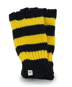 Michigan Wolverines Women's 47 Brand North Slope Fingerless Gloves Back