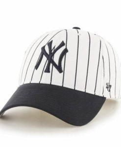 New York Yankees TODDLER 47 Brand Pinstripe White Adjustable Hat