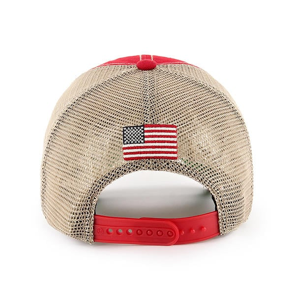 Operation Hat Trick Clean Up Trawler Red 47 Brand Adjustable USA Flag Hat.  Operation ... 65e8058ed