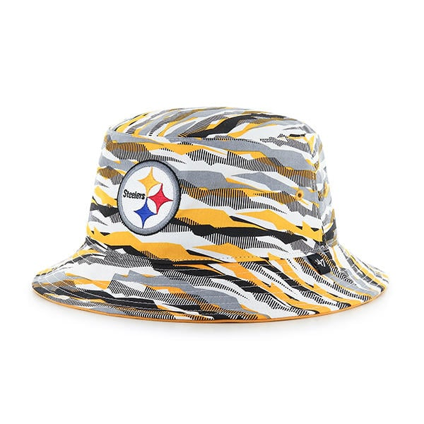 cd6d523a5ca Pittsburgh Steelers 47 Brand Carrier Bucket Hat - Detroit Game Gear
