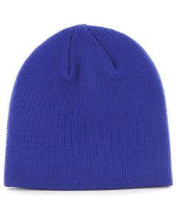 New York Giants YOUTH 47 Brand Blue Beanie Hat Back