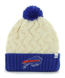 premium selection da9db f202b Buffalo Bills Women s 47 Brand Natural Cuff Knit Hat ...