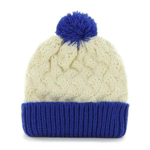 Buffalo Bills Women's 47 Brand Natural Cuff Knit Hat Back