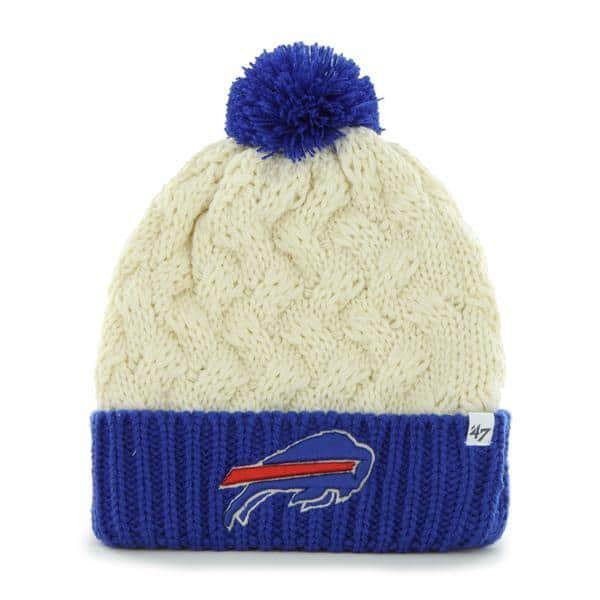Buffalo Bills Women's 47 Brand Natural Cuff Knit Hat