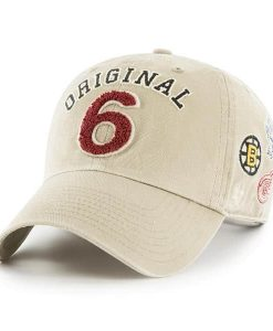Original Six 47 Brand Khaki Clean Up Adjustable Hat