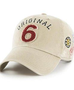 c8ca962e27f1a Original Six 47 Brand Khaki Clean Up Adjustable Hat ...