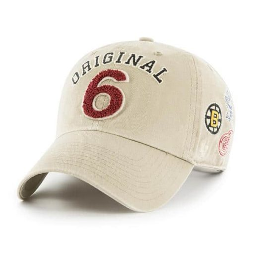 Original Six 47 Brand Khaki Clean Up Adjustable Hat