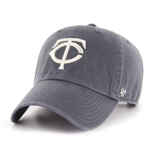 Minnesota Twins 47 Brand Vintage Navy Clean Up Adjustable Hat