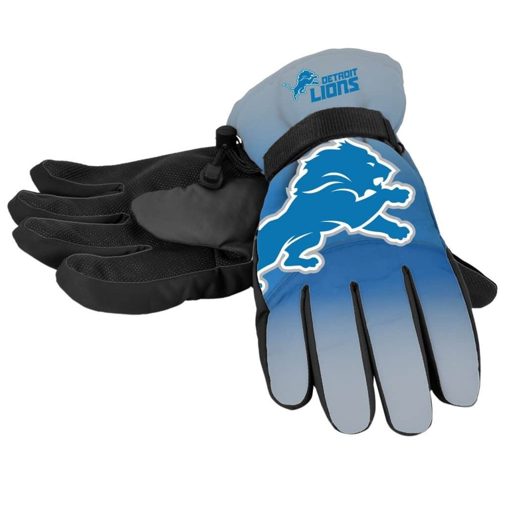 Detroit Lions Logo Insulated Gloves