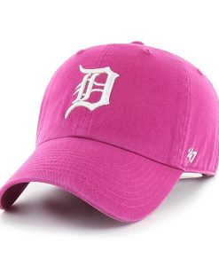Detroit Tigers 47 Brand Orchid Clean Up Adjustable Hat