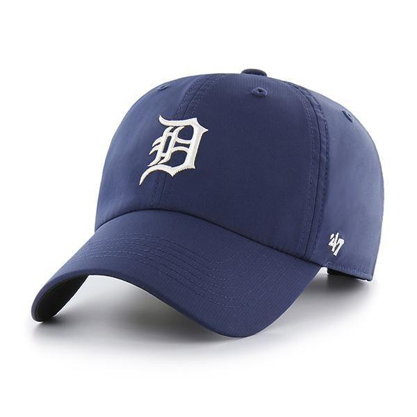 Detroit Tigers 47 Brand Repetition Navy Clean Up Adjustable Hat