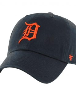 new concept 1106a 5da4a Detroit Tigers Clean Up Road 47 Brand Adjustable Hat
